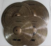MK- Natural Series High Grade B20 Metal Cymbal MK-Natural Handmade Chinese Cymbal/Dark Tones Cymbal Set For Jazz,blues and R&B