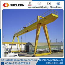 Nucleon crane overload protection device included overhead gantry crane training