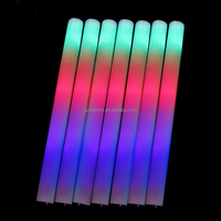 Beautiful Design Light Up Multi Color LED Foam Stick Wands Rally Rave Cheer Batons Party Flashing Glow Stick Light Sticks