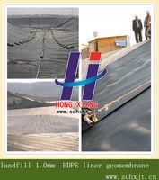 landfill 1.0mm HDPE liner geomembrane