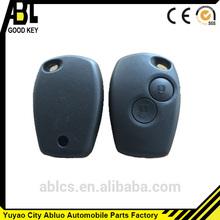 de alta calidad a distancia 2 botones de infrarrojos clave para el coche renault clave de shell de reemplazo