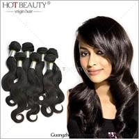 Guangzhou Queen Beauty Hair Products, 100% Brazilian Straight Virgin Hair