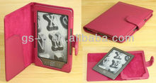 Cheap Shipment Cost High Quality For Amazon Kindle 4 leather Cases