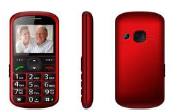"C03 Cheap Elder 1.77"" People Mobile Phone MTK6260 HD FDD smart phone one sim cards Big Keyboard *3"
