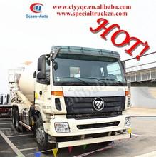 Foton 6X4 concrete mixer truck, concrete mixer truck price, used concrete mixer truck with pump