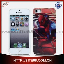 fashion 3d cell phone case for mobile phone,tpu mobile phone cover for iphone 5