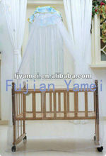 Mosquito netting for baby sleeping bed