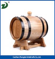 Oak Wood Mini Wine Barrel