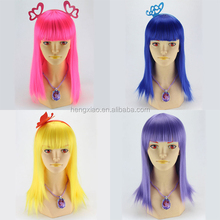 Wholesale cheap synthetic cosplay Cartoon wig ,party wig