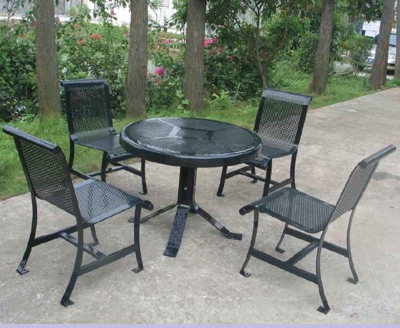왕실 정원 야외 가구 파티오 가구 야외 피크닉 테이블 세트-야외 ...