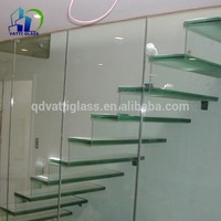 Hot Sell Clear, Colored 6.38-39.52 PVB/Dupond Sgp Laminated Glass For Stairs