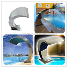 Artificial LED light waterfalls hydraulic massage spa product