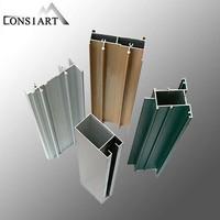 Constmart aluminium sliding folding, double glass sliding folding door weatherstrip sealing for door and window