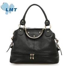 Accept Secure Payment women genuine leather handbags western style handbag