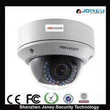 2.8mm lens vandal proof IR dome ip camera hikvision