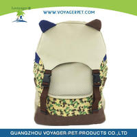 Lovoyager Cute Cat Ear Cat Carrier Backpack Your Cat's Feel Confort in