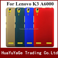Free shipping phone cases plastic cover pudini pin series Super Frosted Shield hard matte case for Lenovo K3 A6000