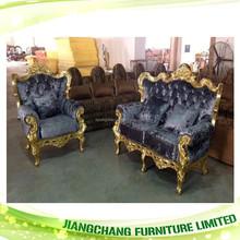 Popular Design Velvet/Leather Chesterfield Sofa Wholesale