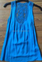 2015 fashion hollow out ladies lace vest new tank top wholesale