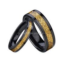 ceramic wedding ring women black ceramic ring for men and women