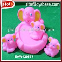 PVC elephant bath toy