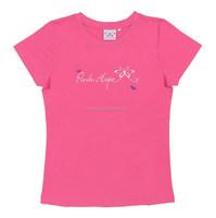 Drop shipping custom women t shirt with woven patch