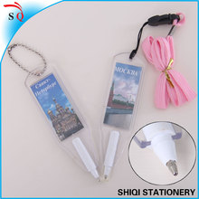 new style mini flat with photo promotional gift ball pen