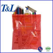 Moistureproof good quality and low price plastic lingerie storage bag made from raw material