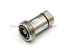 7/16 DIN male plug brass made in china 1/2'' cable connector
