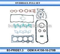 Full set gasket kit for PRIDE1.3 engine B3