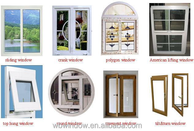 Crank Out Windows House Design : Pvc janela deslizante de alta qualidade janelas