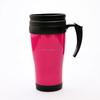 Customized logo PE plastic mug cup,bpa free mug cup,mug cups