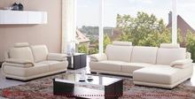 Elegant White Color Leather Sofa Dimension Customize Size 3 Seater Sofa Dimensions Middle East Sofa