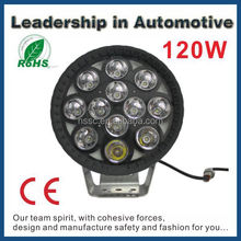 Automobiles 4x4 120w offroad lighting car work light led 12v 24v flood spot combo