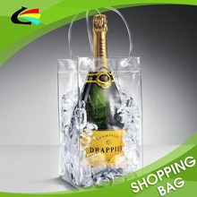 High Quality Transparent Clear PVC Wine Glass Carrier