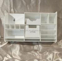 Acrylic Clear Make Up Organiser Cosmetic Display shelf
