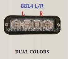 Visor Led Strobe Lights/surface mounted led/ LED surface mount light K8814LR