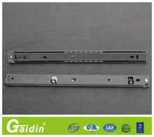 most welcomed alibaba china supplier 3 fold full extension art install cabinet drawer slide rail