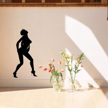 Sexy Woman Style Removable Decor Wall Sticker