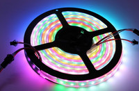 5M 5V 60Led/M 300LEDs programmable WS2812B RGB 5050 LED strip Digital Individually addressable magic dream color Waterproof IP67