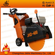 Best Portable concrete cutter saw with Honda GX390 400mm Blade 180mm Cutting Depth(JHD-400)