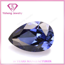 Wholesale Pear Shape Loose Fancy Indian Sapphire Blue Ruby Price