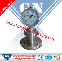 mercury diaphragm pressure manometer