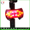 Best designed smart bciycle light rechargeable turn signal mountain bike parts
