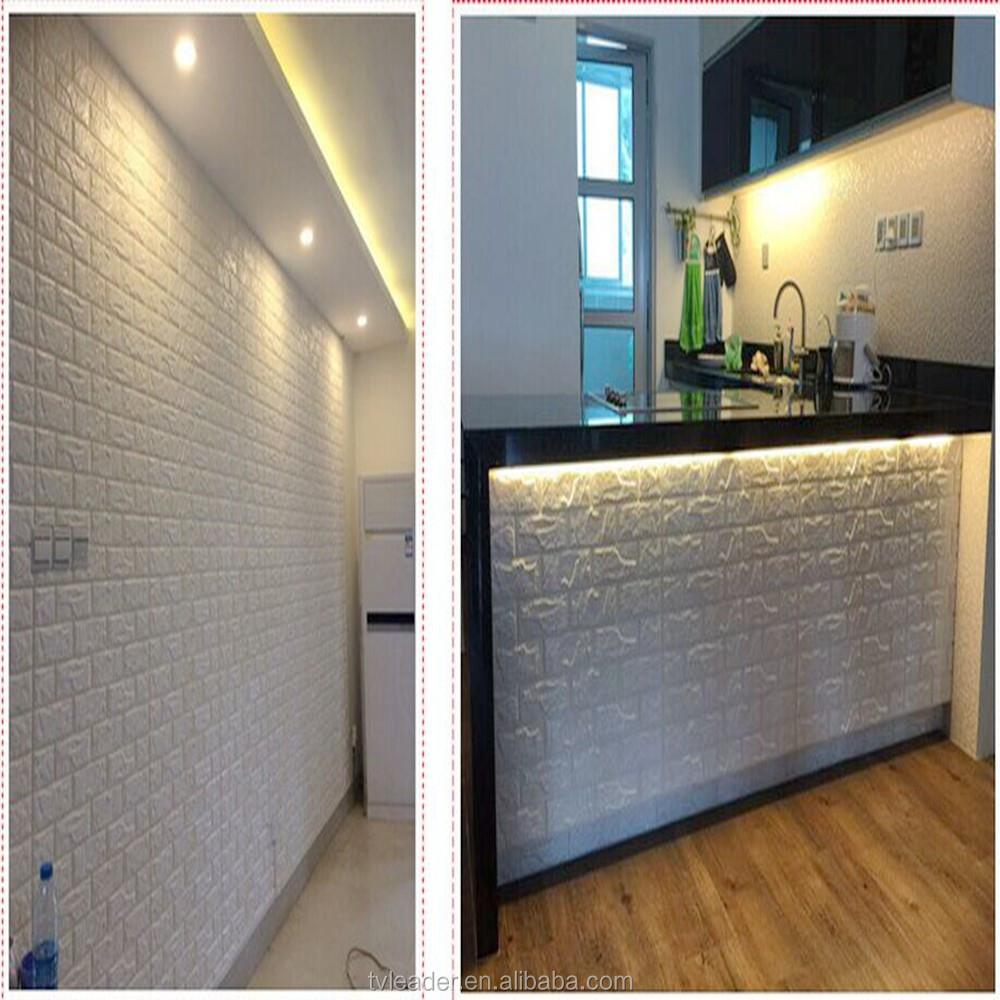 Zelfklevende waterdichte 3d flexibele elastische foam muur ...