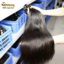 Grade 7A Queen like brazilian hair 100% unprocessed strong double weft brazilian straight hair