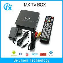 2015 MX Andorid 4.2.2 1.5GHz 1GB RAM 8GB ROM WIFI HD Stick Rj45 Internet Smart Tv Box With Remote AML8726