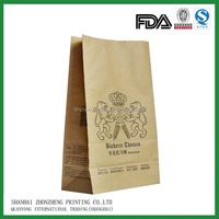 Good Quality custom printing brown paper bag/ paper lunch bag (SMALL)