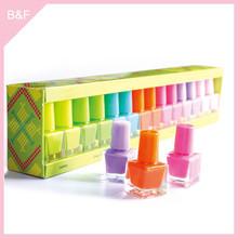All kinds of color of nail polish high quality nail polish display floor stand chameleon nail polish