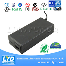 Power adapter input 100-240v ac dc 48v 1.5a 72w adapter with SAA certification for medical printer